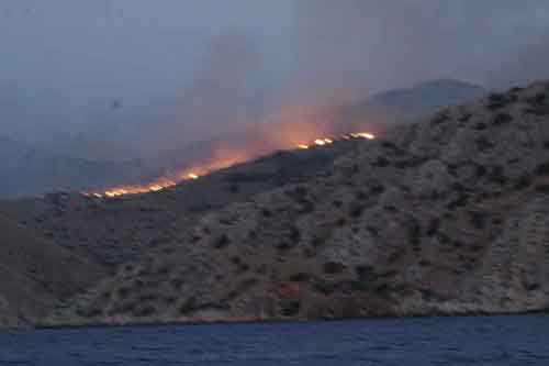 Fire on Hydra